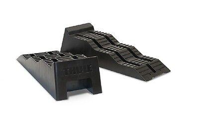 Calzos Niveladores Thule Leveller Negros + Bolsa Transporte Cuña Calzo Nivel 2