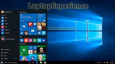 HP LAPTOP WINDOWS 10 PC CORE i5 2.4GHz 4GB RAM WiFi DVDRW NOTEBOOK 250GB HD WIN 7