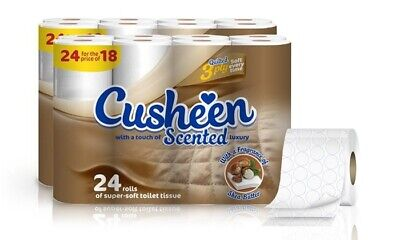 48 Cusheen 3Ply Shea Butter Scented Toilet Rolls Cheaper Than Amazon & Groupon 2