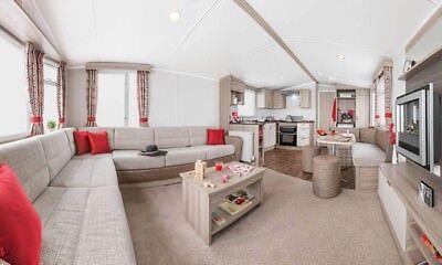 2019 Holiday Deposit - Haven Devon Cliffs New 2018 Prestige 3B Caravan For Hire 2