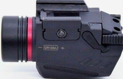 Combo Pistol LED Flashlight Red Laser Sight Fits 20mm Rail Pistol-Rifle 7
