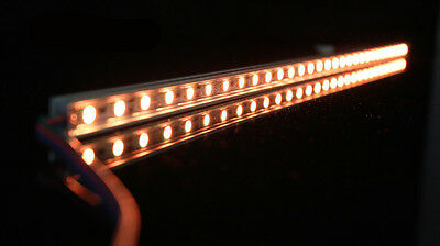 RGB Aluminium Aquarium Teichfische LED Beleuchtung  Lampe Strip Leiste Netzteil 5