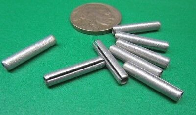 """Zinc Plate Slotted Roll Spring Pin, 9/64"""" Dia x 3/4"""" Length, 100 pcs 10"""