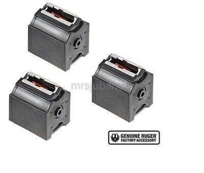 Ruger 10/22 BX-1 22LR 10 Round Magazine Black 3 Pack 10rd Mag 90451 Factory OEM