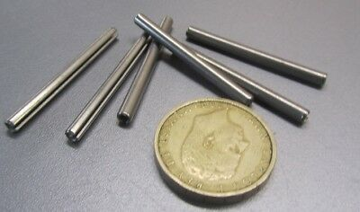 """420 Stainless Steel, Slotted Roll Spring Pin, 1/8"""" Dia x 1 1/2"""" Length, 100 pcs 6"""