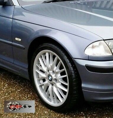 Estate painted STEEL BLUE 372 NEW BMW E46 SALOON 2001-2005 WINGS PAIR Saloon