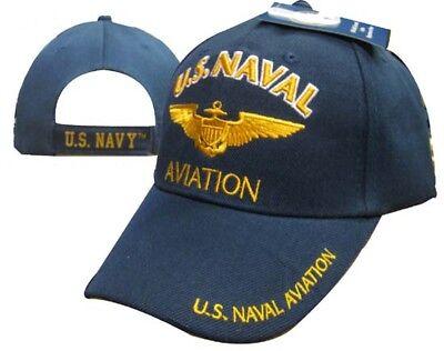 U.S. Navy Naval Aviation Navy Blue Cap Hat (Licensed) (TOPW) CAP602Y 2