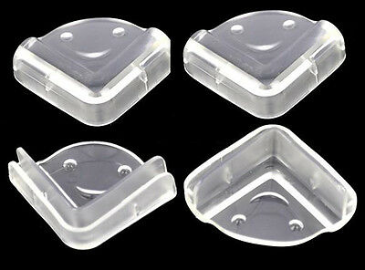 8 x NEW CORNER PROTECTOR L-SHAPE BABY CHILD SAFETY CUSHION TABLE DESK EDGE GUARD