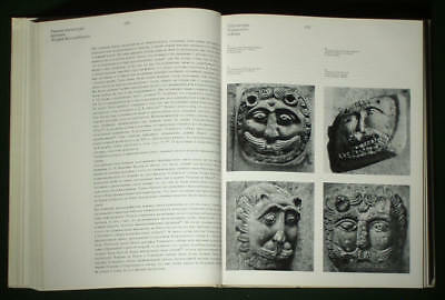 RARE BOOK Medieval Russian Stone Sculpture Architecture carving church art 3