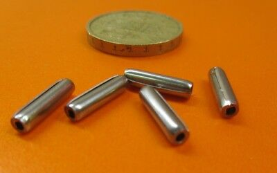 "420 Stainless Steel Coiled Spring Pin, 1/8"" Dia x 1/2"" Length,  50 pcs 3"