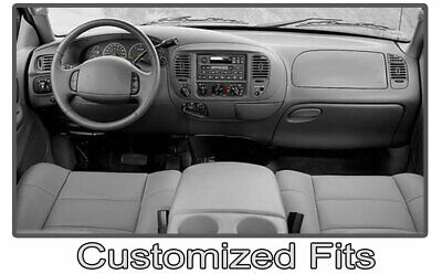Grey Dashboard Pad Dash Cover Mat For 1997-2003 Ford F150 //1997-2002 Expedition