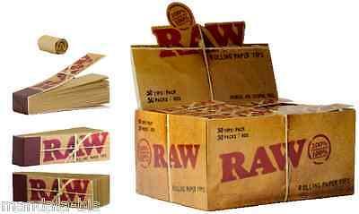 Raw TIPS Lot de 10 Carnets x 50 Filtres en Carton (Tip) 2