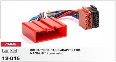 CARAV 11-086 Car Radio Fascia Stereo Trim Dash Kit for MAZDA RX-8 2003-2008