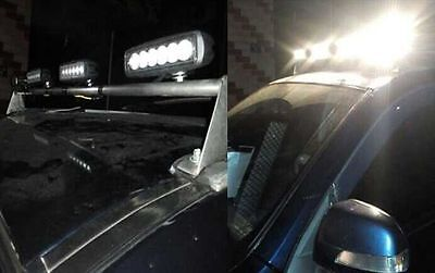 10x 18W 6INCH LED WORK LIGHT BAR OFFROAD FLOOD DRIVING AUTO TRUCK UTE 4WD LAMP 6