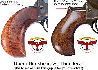UBERTI BIRDSHEAD SAA MAGNA TUSK AGED IVORY GRIPS ~ Cattleman Stallion ~  Cimarron