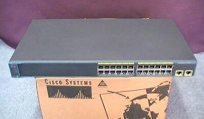 CISCO WS-C2960-24TT-L *15 0 IOS* 2960 Ethernet Switch WSC296024TTL 5YR  Warranty!