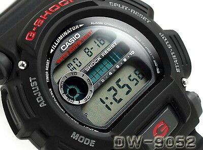 Casio G-Shock Digital Mens Watch Dw9052-1V Black/red 2Y Warranty Dw-9052-1Vdr 3