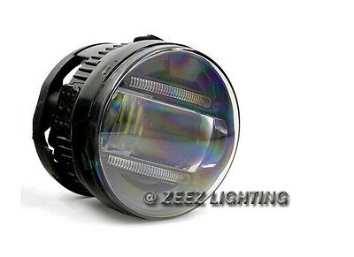 LED Projector Fog Driving Lamp w/ DRL Daytime Running Light For Cars Trucks SUVs 3