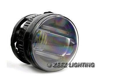 LED Projector Fog Driving Lamp w/ DRL Daytime Running Light For Cars Trucks SUVs 3