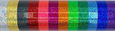 Glitter Effect Self Adhesive Sign Vinyl Sticky Back Plastic Cricut Silhouette 2