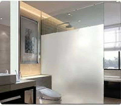 White Frost Privacy Frosted Window Film Matte Opal Etch Tinting Tint Glass Vinyl 3