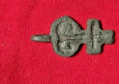 Ancient Age Bronze Cast Cross Byzantine Pendant 6