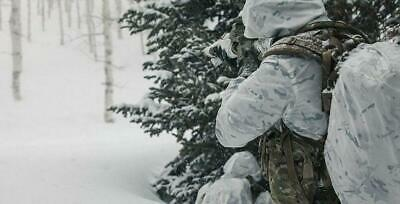 Camouflage Multicam Alpine White Winter Militaria Hunting Airsoft Snow Light New 3