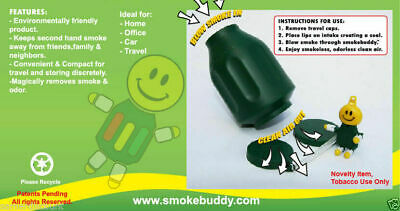 The Original Smoke Buddy Personal Air Filter Great Gift random colour 2