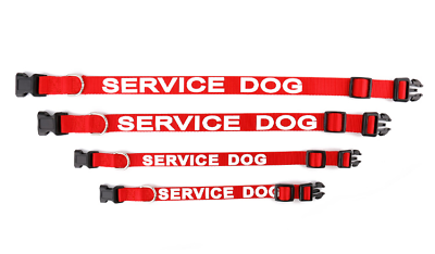 ALL ACCESS CANINE™ Service Dog - Emotional Support Animal ESA Dog Collar and Tag 9