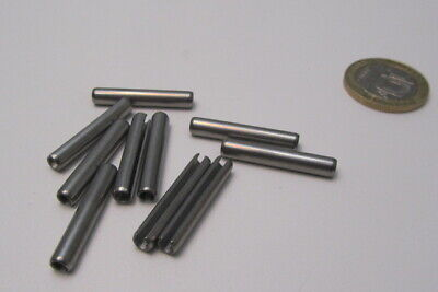 18-8 Stainless Steel Slotted Metric Spring Pin M4 Dia x 26 mm Length, 30 pcs 6