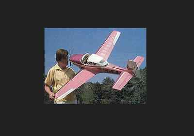 1/6 SCALE NAVION 67 inch Giant Scale RC Model AIrplane PDF Plans on CD
