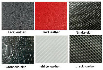 Laptop Snake Crocodile Leather Skin Sticker Protector For MSI Gs63