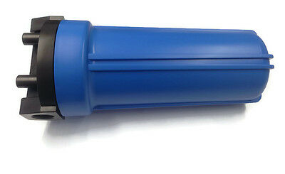 "10"" Blue Housing For Reverse Osmosis Water Filters With 3/4"" Female Port 3"