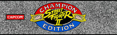 Street fighter 2  Arcade Cabinet Graphics Reproduction Marquee CPO SideArt Bezel 4