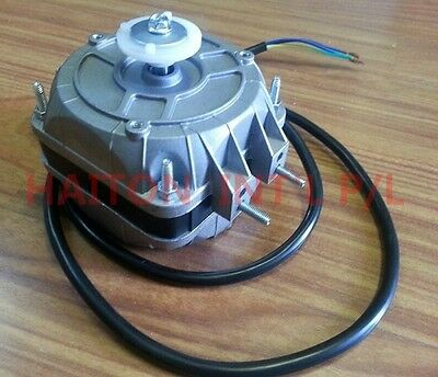 Heavy Duty Square Fan Motor 16W sleeve bearing dual mounting distance18/26mm 3