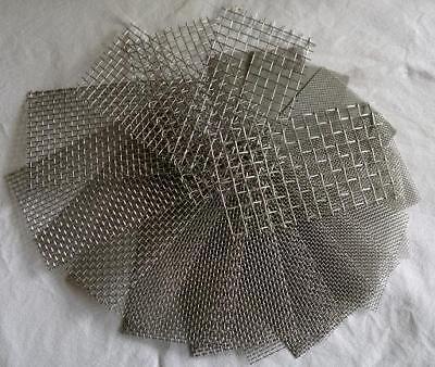 Edelstahl Drahtgewebe mit 3,1 mm Maschenweite, 0,8mm Drahtstärke, 50 cm x 40 cm 2