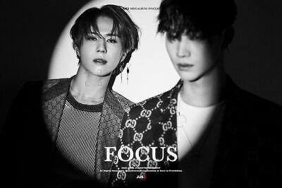 GOT7 JUS2 [FOCUS] Mini Album CD+POSTER+Book+Lyrics+2p Card+Pre-Order+GIFT SEALED 3