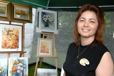 Original Art Oprina-Felicia Dolea - Oil Painting 7x9 in_# 677 2