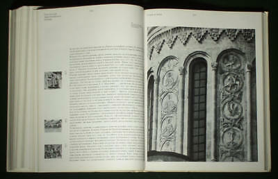 RARE BOOK Medieval Russian Stone Sculpture Architecture carving church art 11