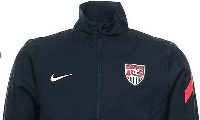 a44b77a23c3 ... Nike Team USA Soccer World Cup Navy Warm Up Zip Training Jacket 449957  472 2