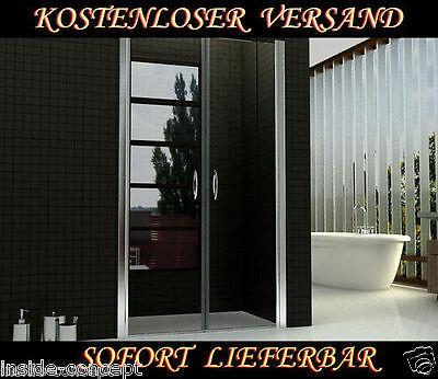 duscht r pendelt r nischent r duschabtrennung 70 120x195cm 6mm glas beschichtet. Black Bedroom Furniture Sets. Home Design Ideas