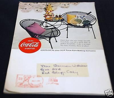 Coca - Cola Advertisement Booklet 1955 vintage Coca-Cola sign booklet