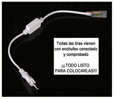 TIRA DE LED MANGUERA LUZ 220V INTERIOR IP65 ALTA ILUMINACION (120 Luces/Metro) 3