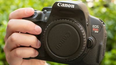 MINT CANON EOS Rebel T5i / 700D 18 0 MP SLR With EF 18-55mm IS II (2 LENSES  KIT)