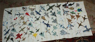 LOT 145 DIECAST AIRPLANES JET AIRCRAFT PLANES MILITARY Helicopters HUGE LOT