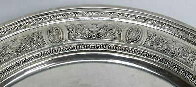 International 1924 Wedgwood Pattern Sterling Silver Low Footed Cake Plate #H86 5