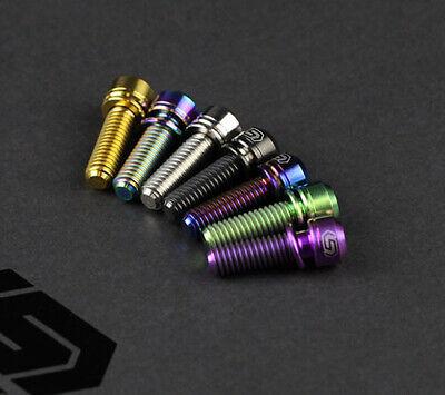 2pcs M6 *17//19//25//30//35mm Titanium Screws Bolts Cylindrical Torx Head