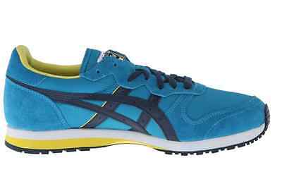 the best attitude e3387 367da ONITSUKA TIGER DL301.4250 OC RUNNER Mn's (M) Ocean Blue Suede Lifestyle  Shoes