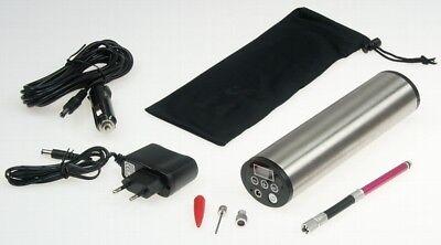 CT21329 Hochleistungs Luftpumpe mit LiIon Akku Display, Druckeinst., KFZ-Adapter