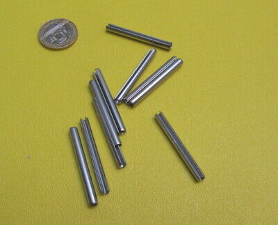 18-8 Stainless Steel Slotted Metric Spring Pin M4 Dia x 40 mm Length, 30 pcs 7